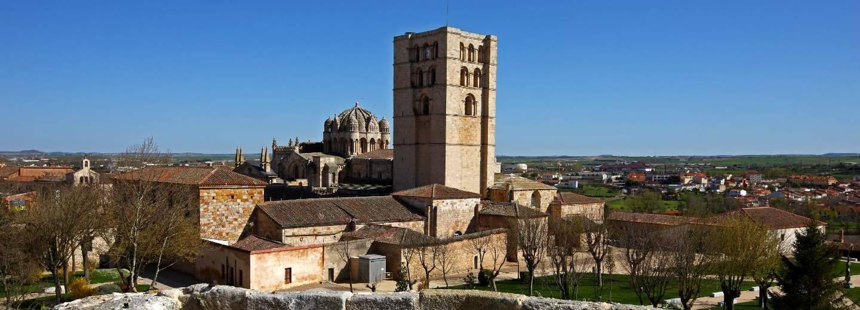 Catedral de Zamora. Panorámica