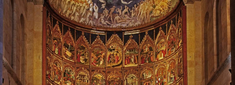 Catedral Vieja de Salamanca. Retablo Mayor