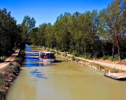 Barco en Tamariz de Campos (Valladolid)