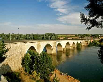 Puente sobre el Duero. Tordesillas (Valladolid)