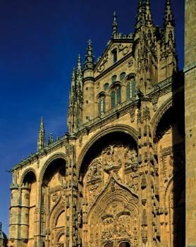 Portada de la Catedral Nueva de Salamanca