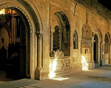 Claustro de la Catedral Vieja de Salamanca