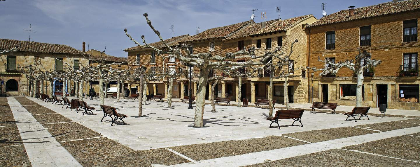 Astudillo. Plaza Mayor