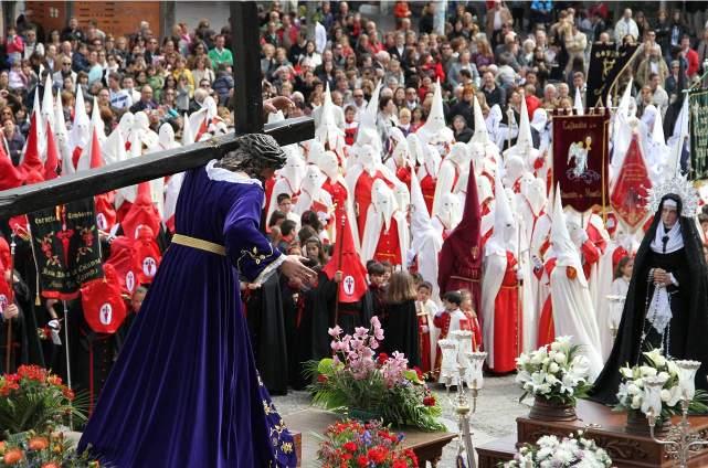 Semana Santa de Medina del Campo. Procesión del Encuentro