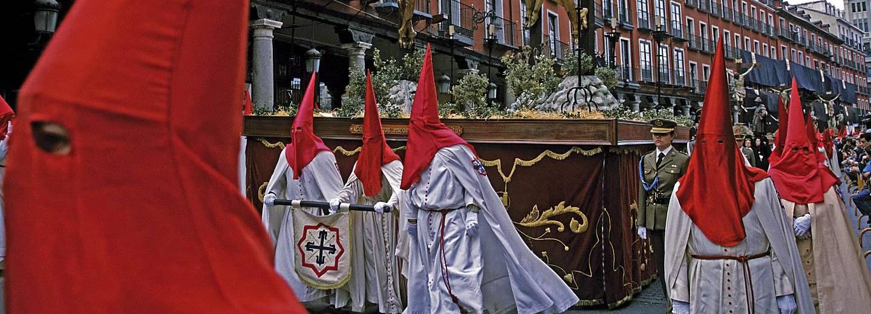 Semana Santa de Valladolid. Cofradia de las Siete Palabras
