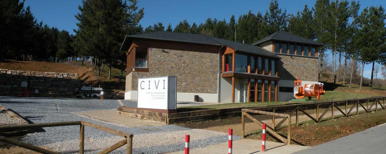 Centro de interpretación de la Vid y el Vino de Camponaraya - edificio completo