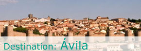 Destination Avila. This link opens in a popup window