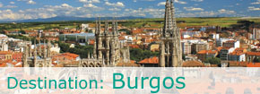 Destination Burgos. This link opens in a popup window