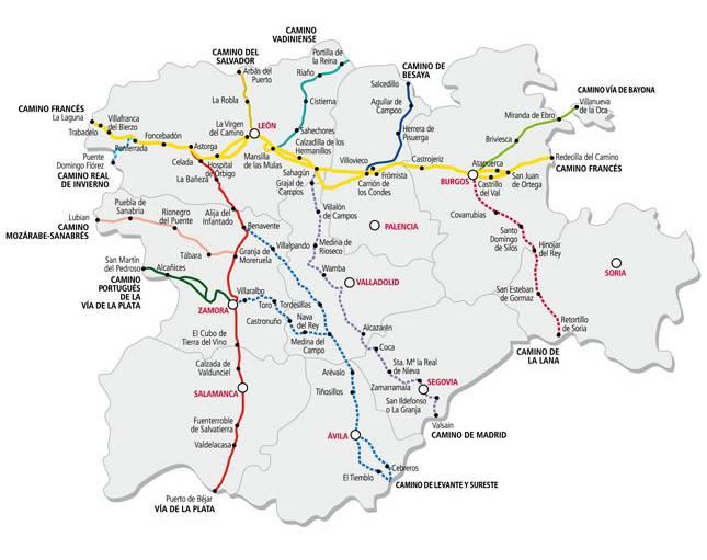 Caminos a santiago por castilla y le n portal de turismo for Oficina turismo castilla y leon