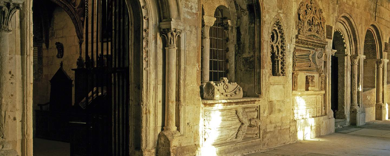 Catedral Vieja de Salamanca. Claustro