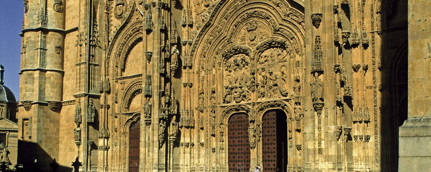 Catedral Nueva de Salamanca. Portada