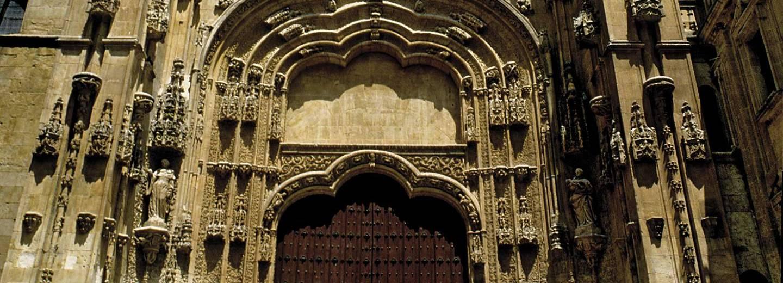 Catedral Vieja de Salamanca. Patio