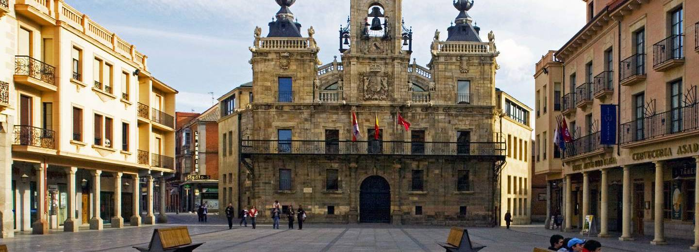 ASTORGA. Plaza Mayor