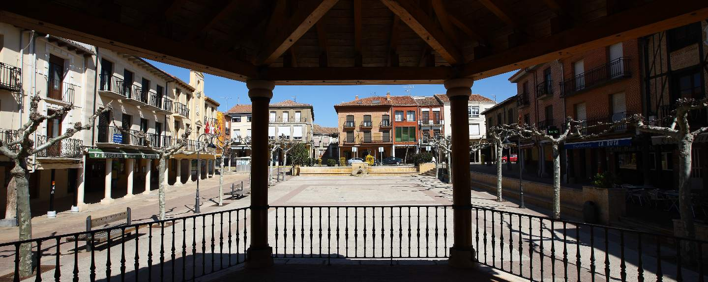 Sahagún. Plaza Mayor