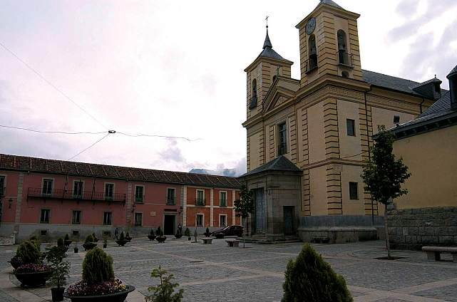 San Ildefonso o La Granja. Plaza de los Dolores