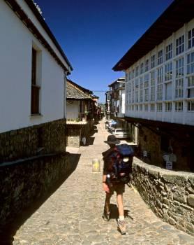 Calle Real. Molinaseca (León)