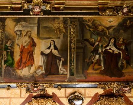 Mural de la Capilla del Nacimiento de Santa Teresa