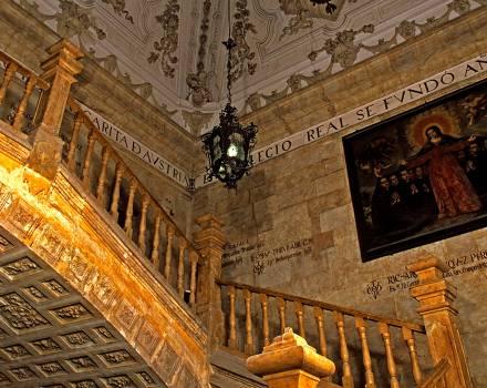 Escalera de la Universidad Pontificia de Salamanca