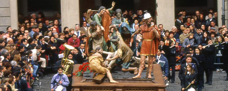 Semana Santa de Zamora. Baile del Cinco de Copas