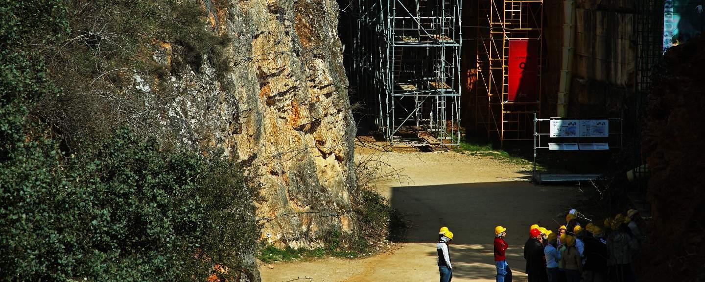 Yacimientos de Atapuerca. Trinchera del Ferrocarril