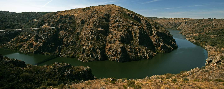 Arribes del Duero. Puente de Pino