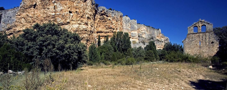 Hoces del Río Riaza. Ruinas del Convento de S. Martin del Casuar