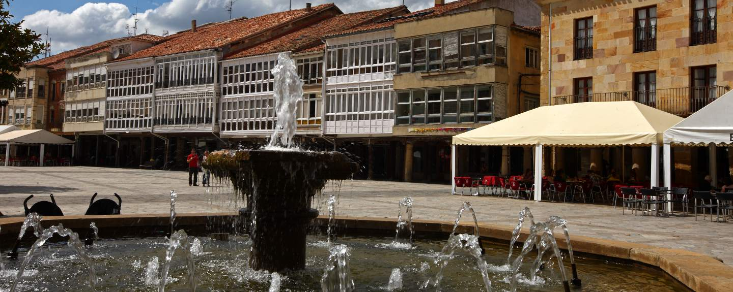 Aguilar de Campoo. Plaza Mayor