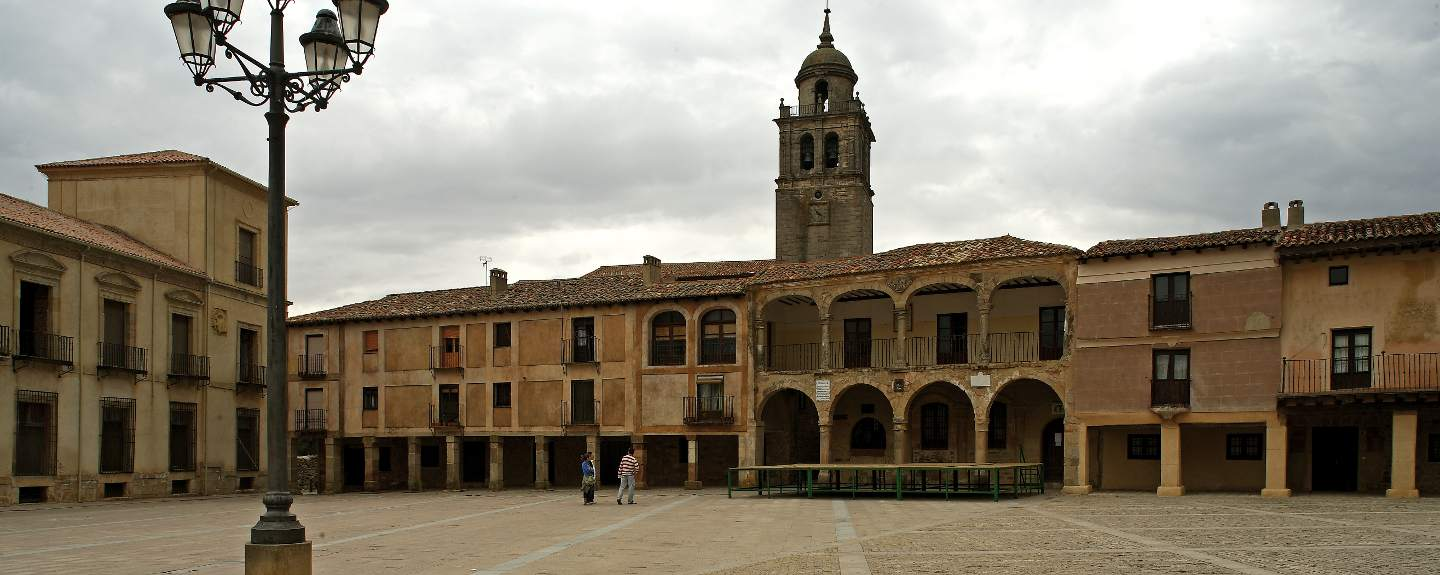 Medinacelli. Plaza mayor