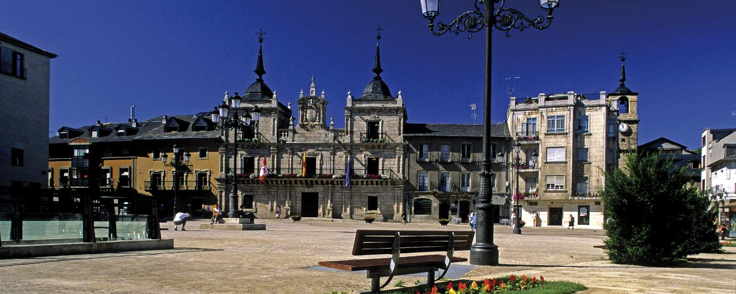 Ponferrada. Plaza Mayor